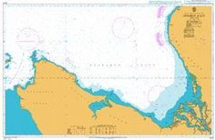 British Admiralty Nautical Chart 2273: Dvinskiy Zaliv