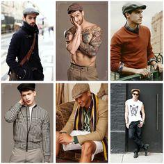 Então pessoal vamos deixar um pouco o boné e chapéus e apostar nas Boinas. Um look clássico,moderno e elegante.