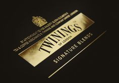 Twinings Signature Blends on Packaging of the World - Creative Package Design Gallery