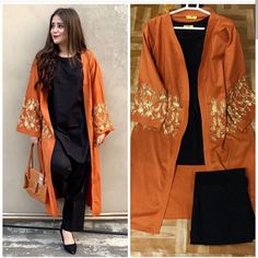 Stylish Dresses For Girls, Stylish Dress Designs, Designs For Dresses, Casual Dresses, Fashion Dresses, Woman Dresses, Simple Pakistani Dresses, Pakistani Dress Design, Pakistani Fashion Party Wear