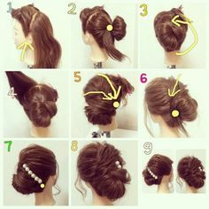holiday chignon