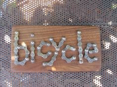 Upcycled Bike Decor  bicycle  Recycled Bike Parts by MomoBarks