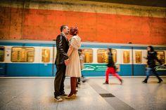 Cool urban heiraten in München von BMS Photographie | Hochzeitsblog The Little Wedding Corner