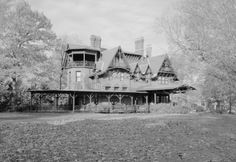 Historic American Houses - Connecticut - Hartford - Mark Twain House (1874)