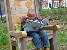 storychair for one , same Nursery School in Liverpool