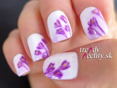flowers, nail art, nail design
