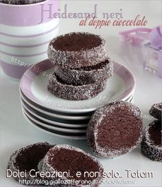 Biscotti Heidesand Cookie Desserts, Chocolate Desserts, Happiness Recipe, Muffin, Biscotti Cookies, Cupcakes, Dessert For Dinner, Piece Of Cakes, Cooking Time