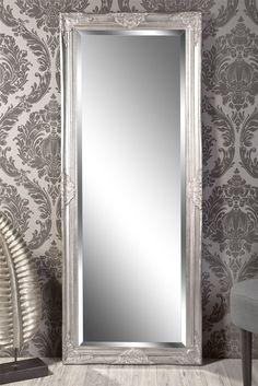 Spiegel Wandspiegel Louisa Barock antik silber 150 x 60 cm in Möbel & Wohnen, Dekoration, Spiegel | eBay