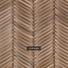 Curva | Chevron | DuChateau #wallcoverings #wood #woodtile #artwall…