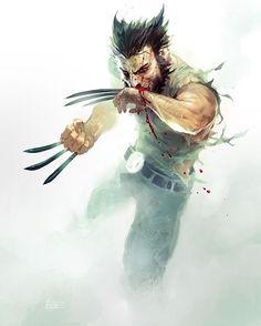 """Wolverine!! #Wolverine #XMen #Marvel #MarvelComics #Comics #ConceptArt #Art #Artist #Superhero"""