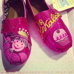 Pinkalicious custom toms
