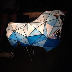 Eames' Tectonic Light Chair process