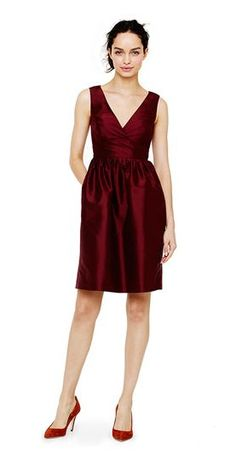 REVEL: Garnet Bridesmaid Dress