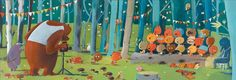 Djeco ~ Puzzle ~ Forest Friends ~ 100pce Puzzles, Forest Friends, 7 Year Olds, Back To Nature, French Artists, Whimsical Art, Educational Toys, Girlfriends, Crates