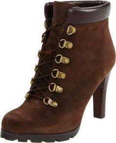 #brown #heels #boots #dark