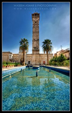 The Great Mosque Of Aleppo | Umayyad Mosque by Falcon EyE, via Flickr