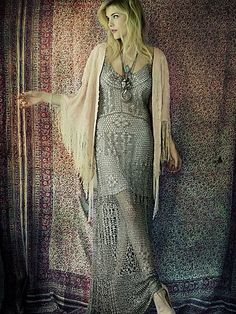 #freepeople #crochet #dress