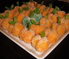 Cantaloupe, Shrimp, Carrots, Strawberry, Meat, Fruit, Vegetables, Cake, Recipes
