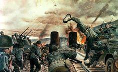 The Remagen Bridgehead March 1945.