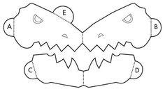 Robert Sabuda  nos da instrucciones de cómo hacer una tarjeta de Dinosaurio T-Rex  saliendo de la página. Es un mecanismo más sencillo que e...
