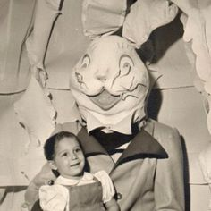This is back when even the Easter Bunny took pride in his attire