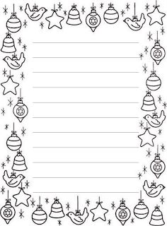 Christmas Note, Christmas Colors, Christmas Cards, Christmas Worksheets, Christmas Printables, Paper Christmas Decorations, Diy Advent Calendar, Borders For Paper, Winter Crafts For Kids