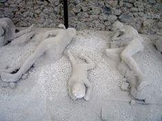 Pompeii, near Naples, Italy.
