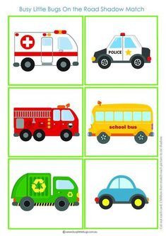 Free clipart vehicle images for kids, boys, girls, fire truck Toddler Learning Activities, Montessori Activities, Kids Learning, Activities For Kids, Transportation Activities, Community Helpers, Preschool Curriculum, Early Childhood Education, Kids Education