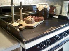 Noodle Board Stove Top Board Primitive Handmade by FirecrackerKid, $55.00