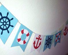 Nautical Flag Banner (5 feet long)