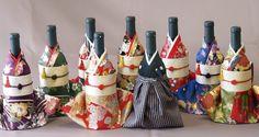 着物を着せたボトルカバー『Kimonoボトルカバー』が人気に!   趣通信