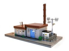 Small Power Plant and Office by LegoJalex, via Flickr