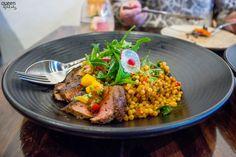 Barley, blossom and beautiful food at Bivouac