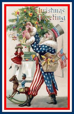 Uncle Sam is Father Christmas   Flickr - Photo Sharing!