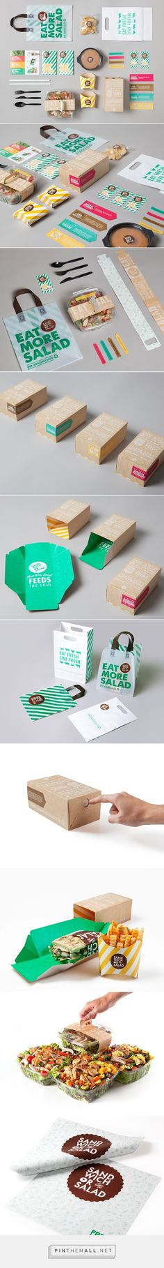 Sandwich or Salad on Behance - created via https://pinthemall.net