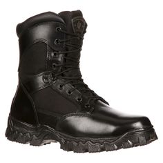 Men's Rocky Alpha Force Boots - Black 9.5M, Size: 9.5