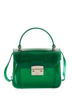 Green Furla Bag