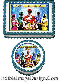 Power Rangers Cake Art