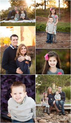 Family Session, Golden Hour, Family Poses, Natural Family Session, Fall Family Pictures – Holly Davis Photography