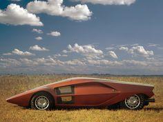 Lancia Stratos Zero (1970) – Old Concept Cars