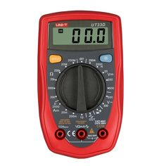 10.29$  Buy here - Palm Size Digital Multimeters Professional Electrical Handheld  Ammeter Multitester With Backlight Data Hold UNI-T UT33D    #shopstyle