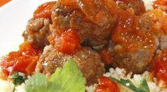 Albóndigas marroquís con cuscús