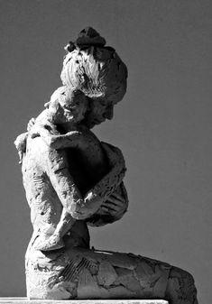 Carol Peace: Heartbeat Human Sculpture, Concrete Sculpture, Sculpture Clay, Statues, Famous Sculptures, Cardboard Art, Pottery Sculpture, Ceramic Figures, Mermaid Art