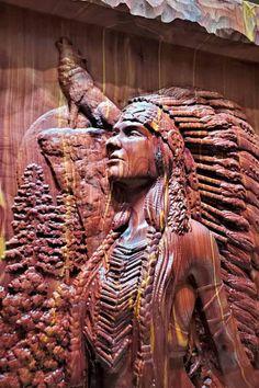 Native American Men, Native American Photos, American Indian Art, Fantasy Castle, Fantasy Art, Big Dream Catchers, Weird Trees, Art Carved, Indigenous Art