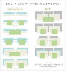 king bed pillow arrangement - Buscar con Google