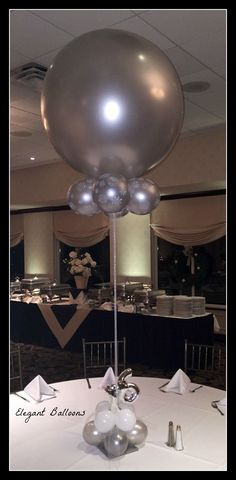Large Balloon Table Centre Piece