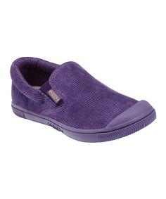 Sweet Grape Corduroy Santiago Slip-On Sneaker #zulily #fall
