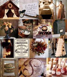 October wedding...