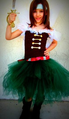 Zarina, Pirate Fairy, inspired by the Tinkerbell movie, tutu dress Costume Halloween, Pirate Fairy Costume, Pirate Fairy Party, Fairy Birthday Party, Pirate Birthday, Halloween Kids, Girl Birthday, Halloween 2014, Birthday Tutu