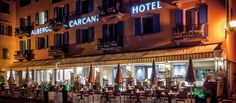 With its sunterrace the Ristorante Carcani is the perfect spot to sit down, relax and enjoy the excellent italian cuisine. 29 Rooms, Restaurant, Italy, Homemade Cakes, Italia, Restaurants, Dining Room